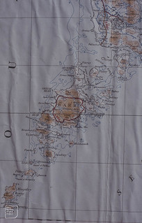 Map. Barra and Eriskay