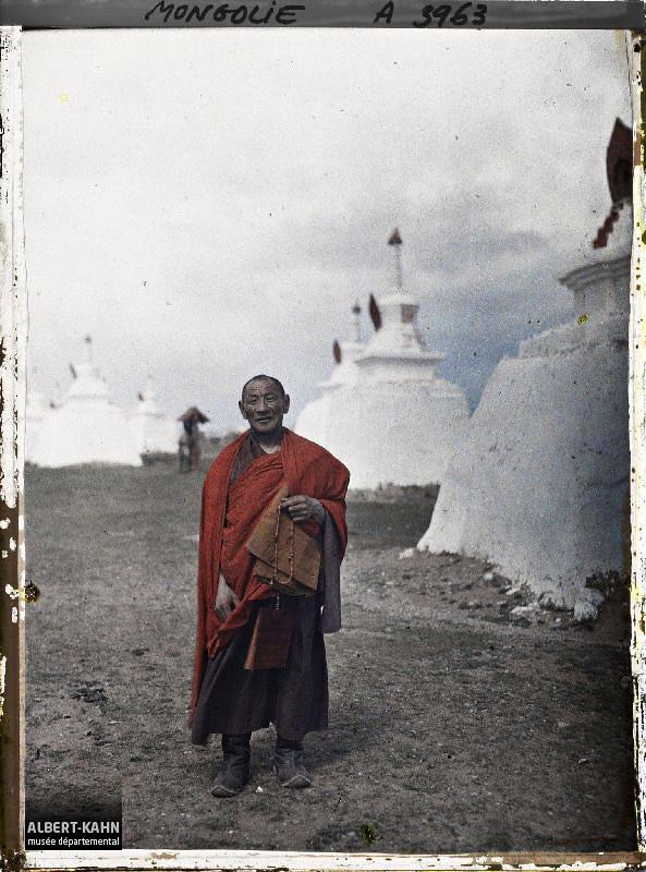 Ourga, Un lama