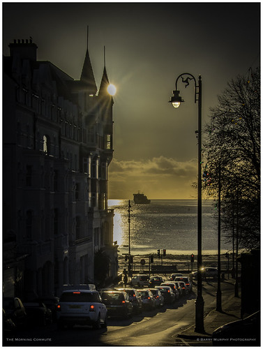 douglas isleofman barrymurphyphotography commute traffic sunriselight