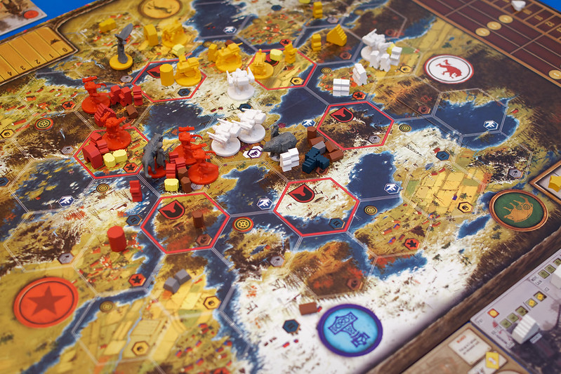 Top 10 Strategy Board Games for Adults Scythe Map and Mechs