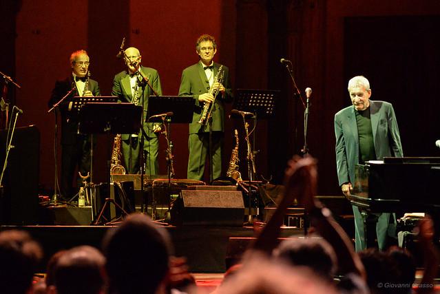FIRENZE LIVE 2017 - Paolo Conte, Massimo Pitzianti, Luca Velotti, Claudio Chiara.