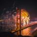 75th Birthday Golden Gate Bridge by Thomas Hawk
