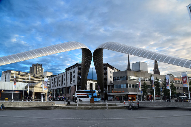 Whittle Arch at Millennium Place, Coventry