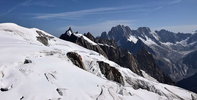 Neige, glace et rocher... Snow, ice and rocks...