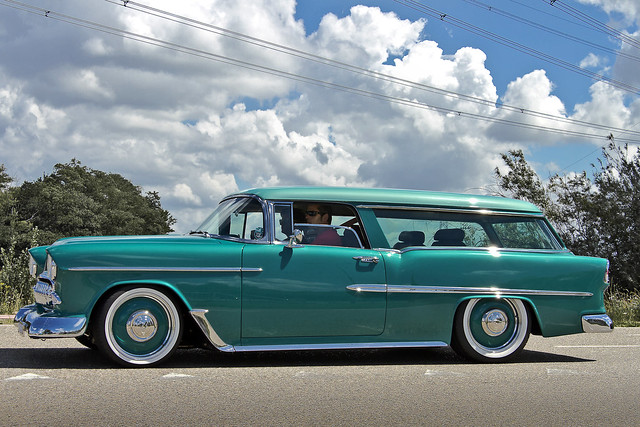Chevrolet Bel Air Beauville Station Wagon 1955* ^# (2911)