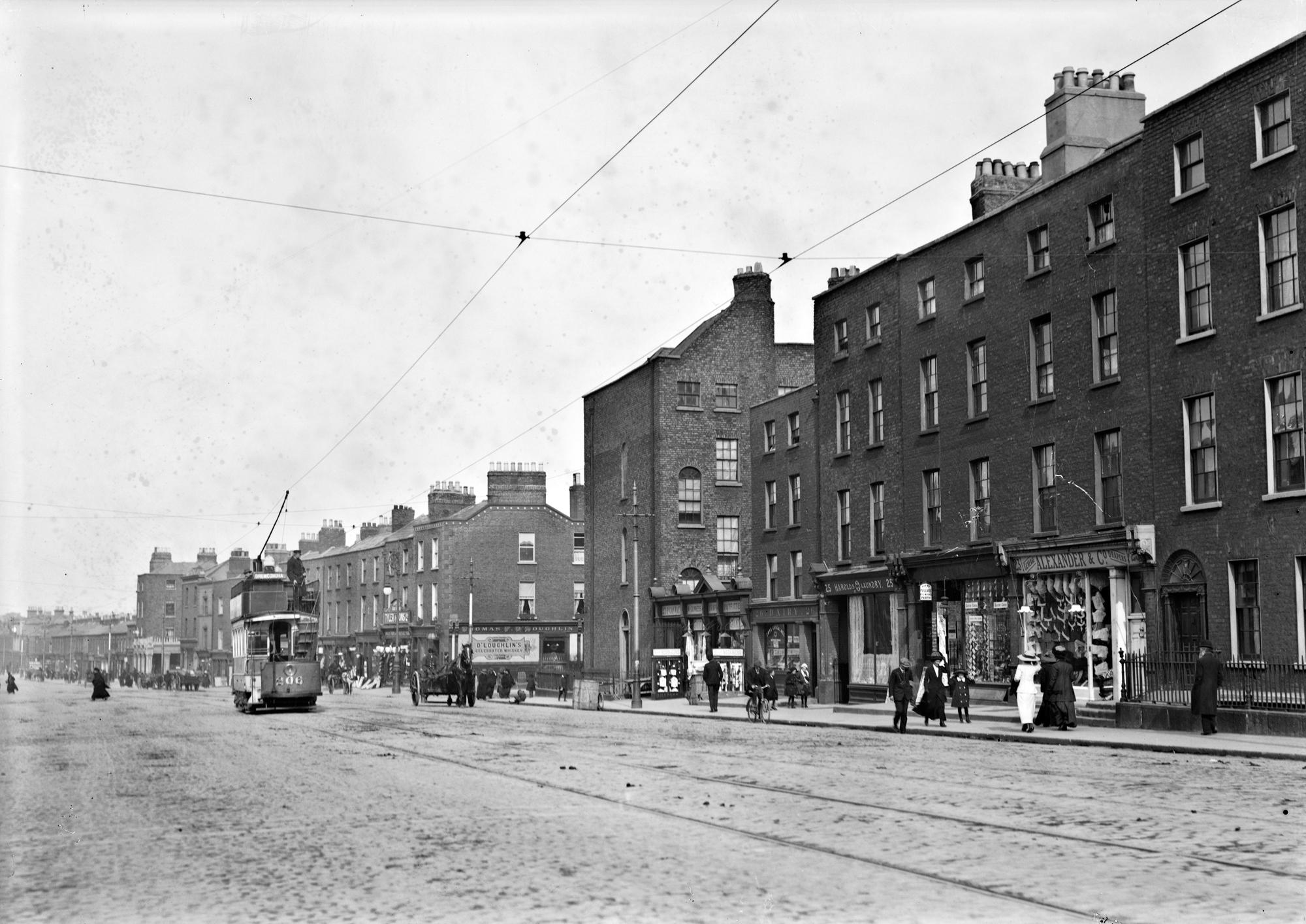 View of a Dublin Street (Dorset Street), Drumcondra, Co. Dublin