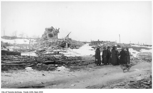 Area destroyed by Halifax explosion | by Toronto History