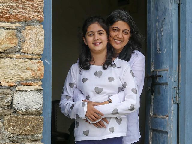Tiya and Nisha