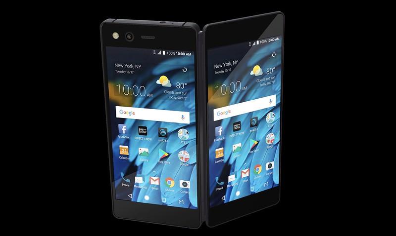 Offiziell: ZTE Axon M Smartphone mit Dual Screen
