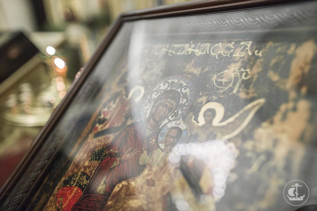"5 ноября 2017, Празднование в честь иконы Божией Матери ""Всех скорбящих Радосте"" / 5 November 2017, The celebration in honor of the icon of the Mother of God ""Joy of all who Sorrow"""