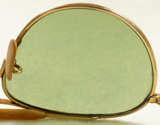 268c1e694f RD19079 Vintage 1940 s American Optical 12k GF Ful Vue AN 6531 Aviator  Sunglasses Gold   Bakelite ...