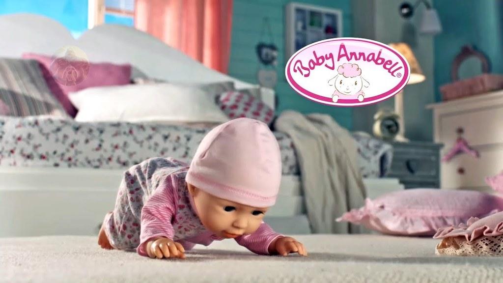 baby annabell lernt laufen