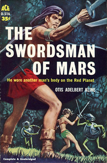 """He wore another man's body on the Red Planet"""