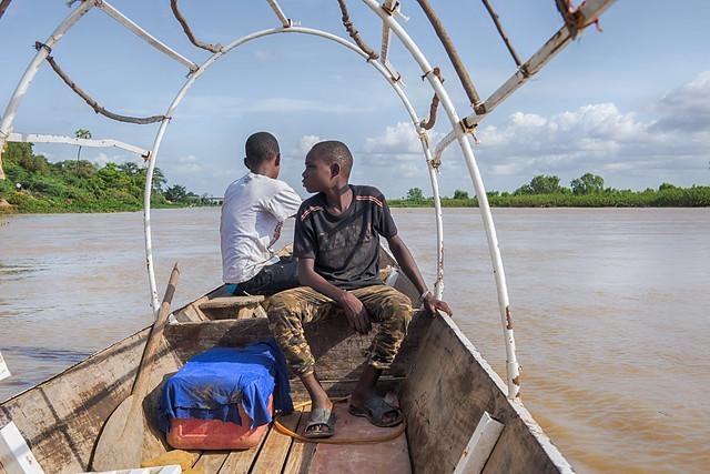 Niger river cruise :-)