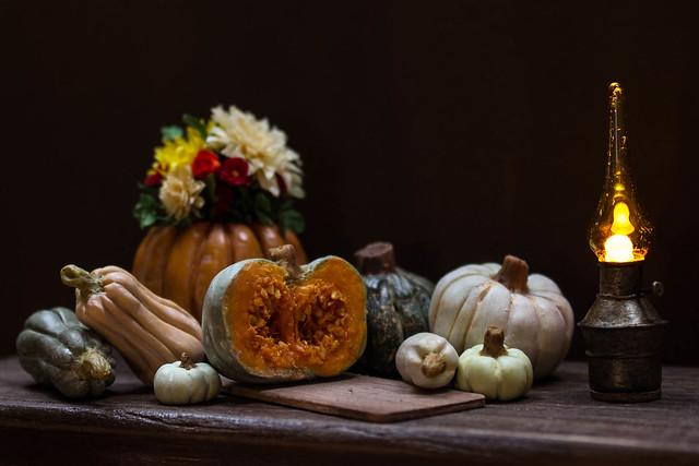 miniature pumpkin season