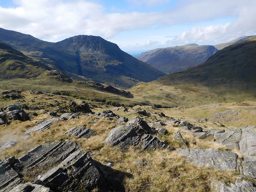 22 - Lingmell with Yewbarrow to the right above Wasdale | by samashworth2
