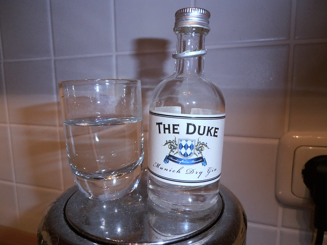 One Shot of The Duke Munich Dry Gin, 45%