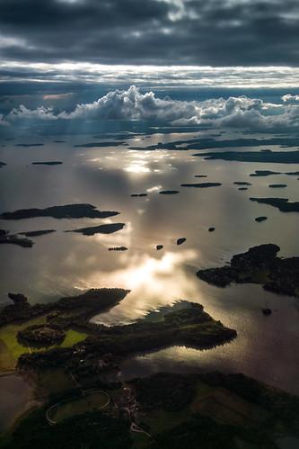 bålsta mälaren sweden outdoor lake bro sverige sjö stockholmslän se landscape sea water sky sunset