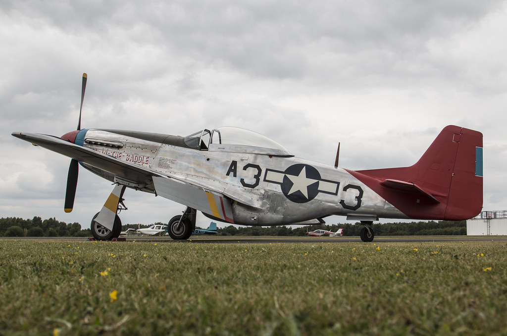 EGLK - North American P-51D Mustang - 44-72035 / Tall In The Saddle