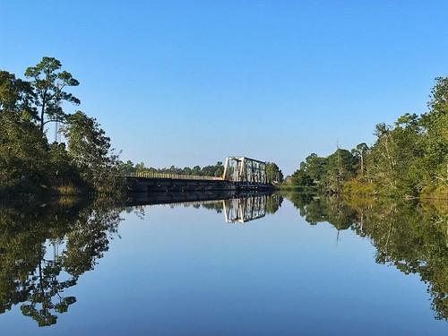 florida milton blackwaterriver river railroad kayak