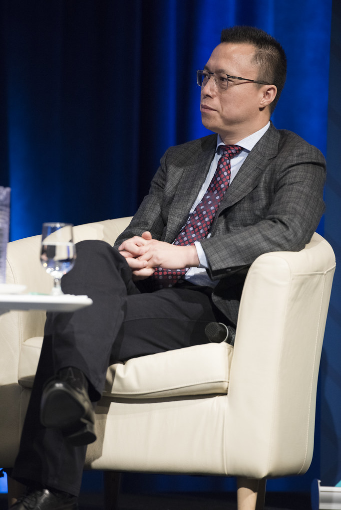 Ant Financial Services Group CEO Eric Jing | October 12, 201