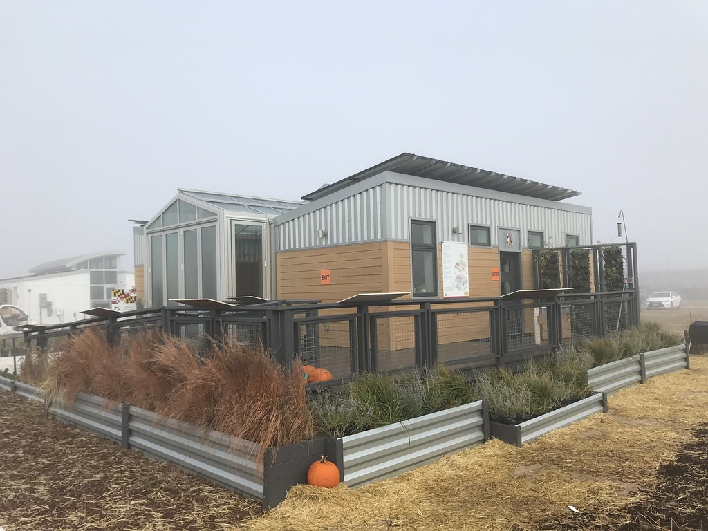 7013787d1 The University of Maryland s reACT competition house for the U.S.  Department of Energy Solar Decathlon 2017 gets in the Halloween spirit at  the 61st   Peña ...