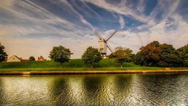 Moulin à Damme -(3833)