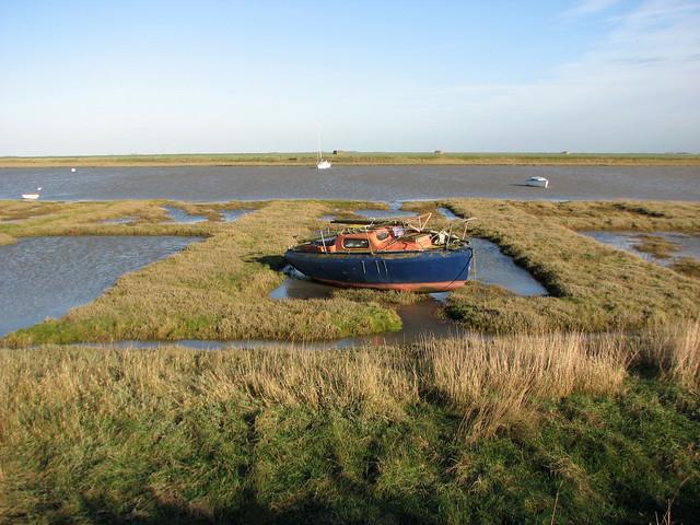 Marshes near Paglesham Eastend