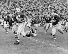 Jack Scarbath touchdown, 1950