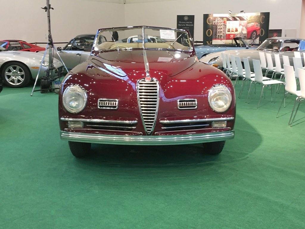 Alfa Romeo 6C 2500 SS Pininfarina Cabriolet Super Sport Corto I 1948