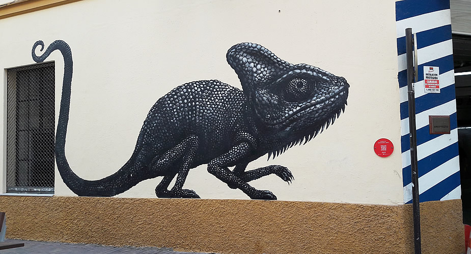 Street art in Malaga | Mooistestedentrips.nl