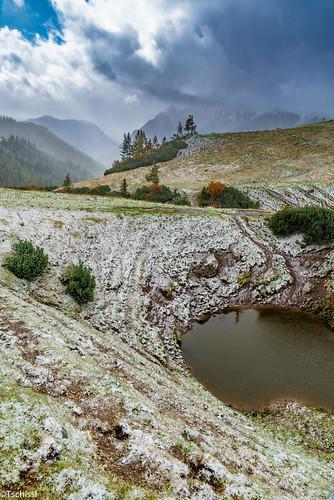 schnee landscape landschaft leobenumgebung austria berge location herbst steiermark österreich