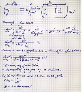LC transfer function   by eprojectszone