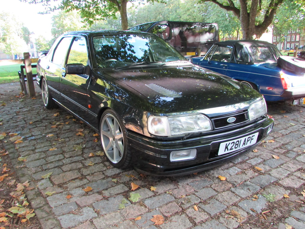 Ford Sierra Sapphire Rs Cosworth 4x4 K281apf A 1992 Ford S Flickr