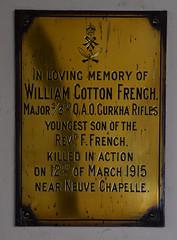 killed in action near Neuve Chapelle