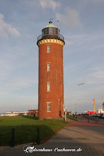 """Der alte """"Hamburger"""" Leuchtturm in Cuxhaven   by Stilkollektiv"""