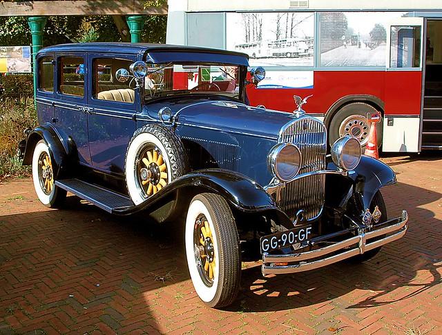 1929 Chrysler 66 @ Oude Voertuigendag Boekelo 2017