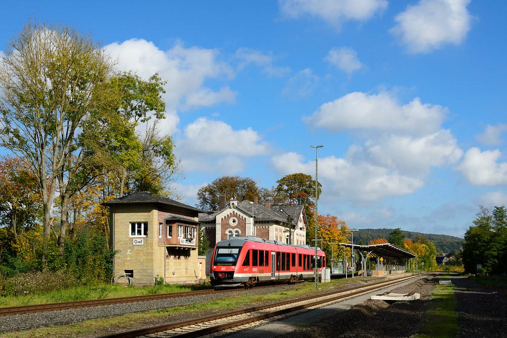 RB Bad Harzburg-Northeim im Bahnhof Bad Gandersheim | Flickr