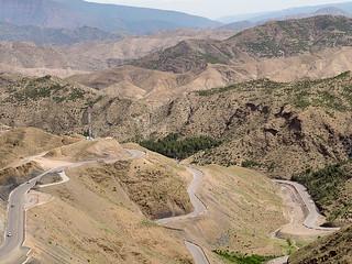Road through Dades Gorges, Morocco