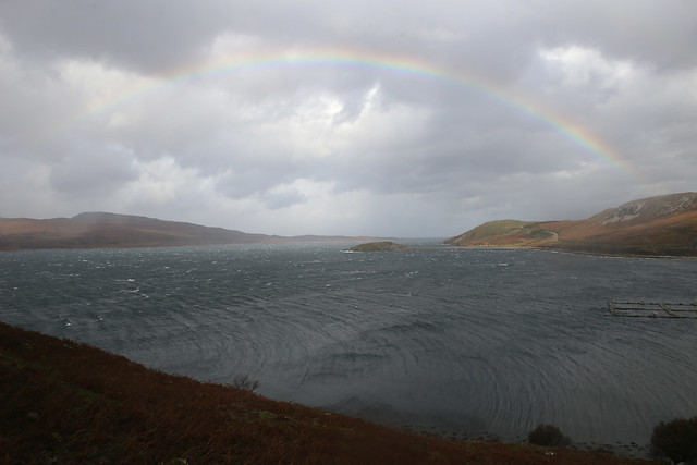 Rainbow over Loch Eriboll