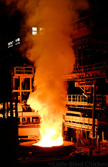 Interpipe steel (arc furnace)