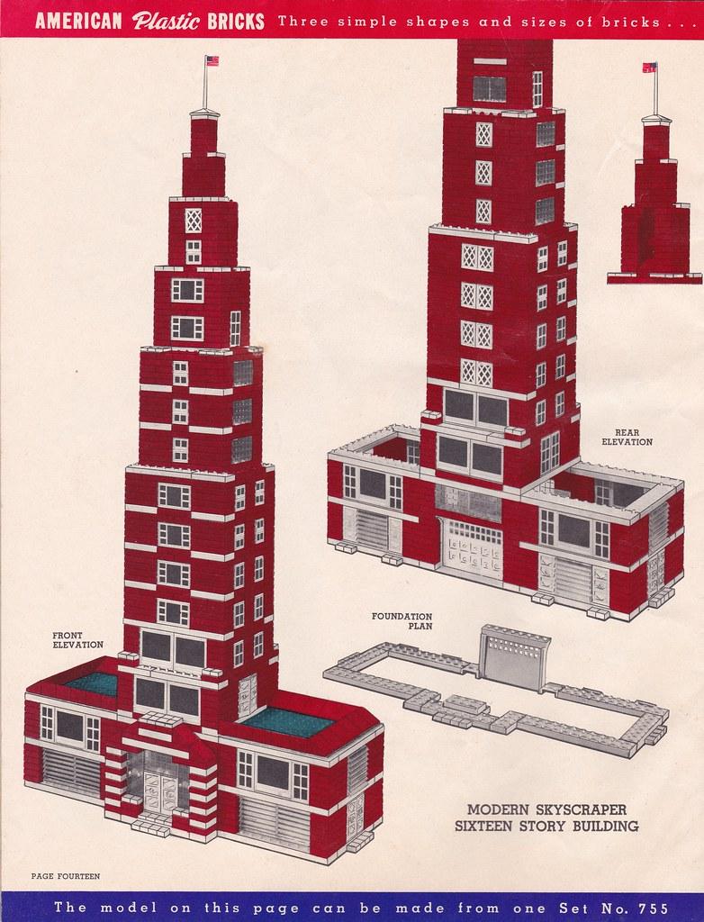 1962 American Plastic Bricks Idea Book (Page 14) | The brick