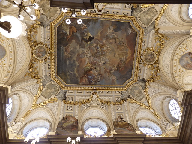 Ceiling in the Palacio Real