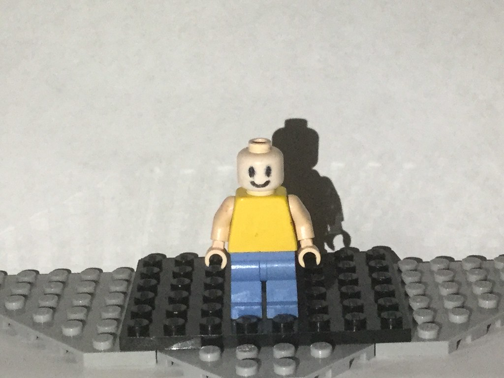 Lego Custom John Doe Roblox This Is Probably Going To B Flickr