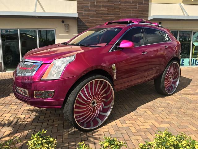The Pharaoh! What a car!  34 inch wheels!