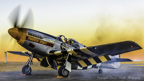 09022017 airplane d810 hff historicflightfoundation nikon vaw aircraft outdoor vehicle northamericanp51bmustang impatientvirgin sunset nikonafs283003556gedvr davidschultzphotography warbirds