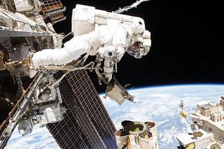 Spacewalker Mark Vande Hei | by NASA Johnson