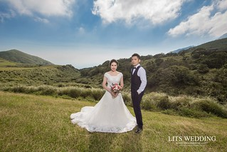 台北婚紗/自助婚紗/婚紗/板橋林家花園/陽明山/David+Connie | by 婚攝樂思