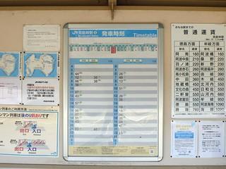 JR Minobayashi Station   by Kzaral