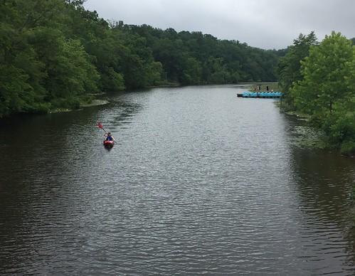 kayak pond lake